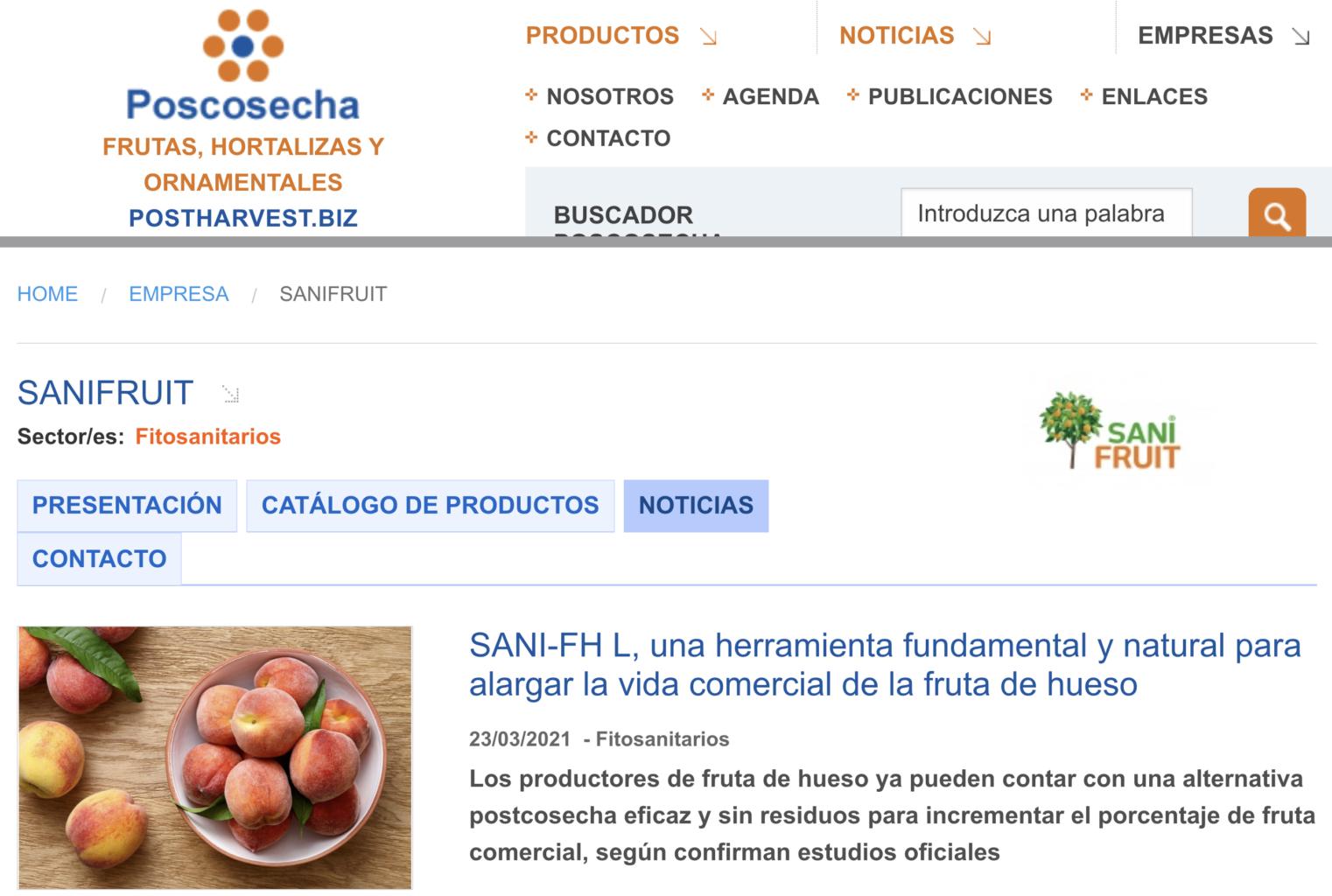 SANI-FH L en Poscosecha.com